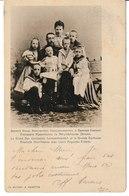 Russie S.A.I. Le Grand Duc Constantin Constantinovitch Et La Grande Duchesse Elisabeth Mavrikievna Avec Leurs Augustes.. - Russie