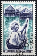 DAHOMEY, USI E COSTUMI, 1963, 2 F., FRANCOBOLLO USATO  Mi:DY 200, Scott:DY 160, Yt:DY 179 - Benin – Dahomey (1960-...)