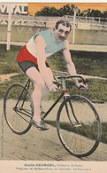 Sport Cyclisme - PEmile Georgel 6 Champion De France Vainquer De Bordeaux Paris Sur Byclette La Francaise - Radsport