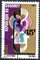 DAHOMEY, EUROPA AND AFRICA, 1967, 45 F., FRANCOBOLLO NUOVO (MNH**) Mi:DY 320, Scott:DY 238, Yt:DY 258 - Benin – Dahomey (1960-...)