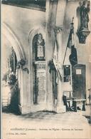 ANNEBAULT  ( 14 )   Interieur De L'Eglise  -  Colonne Du Souvenir  - - France