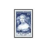 Timbre N° 874 Neuf ** - Madame De Sévigné, Par Nanteuil. - Unused Stamps