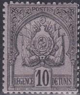 Tunisia, Scott #13, Mint Hinged, Coat Of Arms, Issued 1888 - Tunisia (1888-1955)