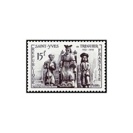 Timbre N° 1063 Neuf ** - Saint Yves, Patron Des Hommes De Loi. Saint Yves Entre Le Pauvre Et Le Riche. - Frankreich