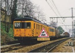 640 - Automotrices E 4906 Et 4904 Avec Dernier Train De Fret RATP, à Cachan (94) - - Treni