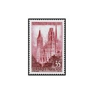 Timbre N° 1129 Neuf ** - Série Touristique. Cathédrale De Rouen. - Frankreich
