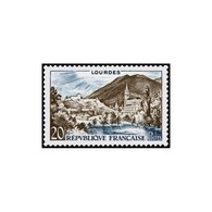 Timbre N° 1150 Neuf ** - Série Touristique. Lourdes. - Ungebraucht