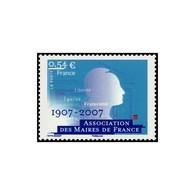 Timbre N° 4077 Neuf ** - Centenaire De L'Association Des Maires De France. - Neufs