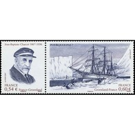 Timbre N° 4110P Neuf ** - Jean Batiste Charcot (1867-1936), Scientifique Et Explorateur Polaire. La Paire 4110 + 4111. - France