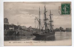 SAINT MALO (35) - LA RENTREE DU POURQUOI PAS ? - CHARCOT / POLAIRE - Saint Malo
