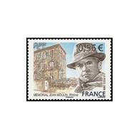 Timbre N° 4371 Neuf ** - Mémorial Jean Moulin à Caluire (Rhône). - Neufs