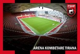 CP.STADE DE FOOTBALL.TIRANA  ALBANIE    ARENA  KOMBETARE   # CS. 826 - Voetbal