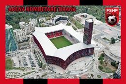 CP.STADE DE FOOTBALL.TIRANA  ALBANIE    ARENA  KOMBETARE   # CS. 824 - Voetbal