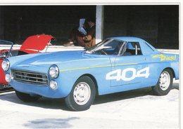 Peugeot 404  Diesel -  1965  -  Records Du Monde  Montlhéry  -  15x10cms PHOTO - Motorsport