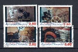 B353 France N° 2919 à 2922 Avec Belle Oblitération Ronde - France
