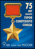 Y85 RUSSIA 2009 1375 The 75th Anniversary Of A Rank Of The Hero Of Soviet Union - Vols Polaires