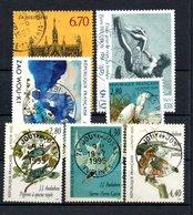 B354 France N° 2926 à 2932 Avec Belle Oblitération Ronde - France