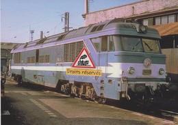 642 - BB 70001 Diesel Prototype, Au Dépôt De Chalindrey (52) - - Materiale