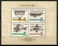 Hungary 1967 Hungría / Aviation History MNH Historia De La Aviación Flugzeug / Cu15703  31-27 - Airplanes