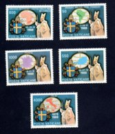 Francobolli Vaticano 1989 - Nuovi - 5 Valori - Vaticano