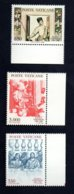 Poste Vaticane 1989 - Nuovi - 3 Valori - Vaticano