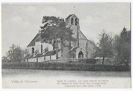 Cpa Bon Etat , Vallée De Chevreuse , église St-lambert, Carte Précurseur, Lire Recto Carte - France