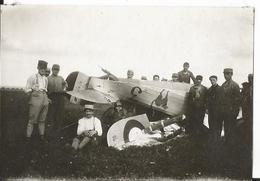 Photo - Crash Aérien - Aéroplane - Première Guerre Mondiale  Très Animée - Meuse Verdun ???? - Aviation