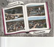 67 - Carte Postale Semi Moderne Dentelée De  SOUVENIR DE DRUSENHEIM   Multi Vues - Autres Communes