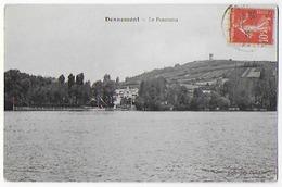 Cpa Bon Etat , Dennemont , Le Panorama ,  Timbre , Courrier Au Verso - France