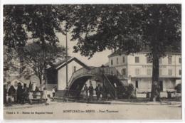 CPA 71 - MONTCEAU Les MINES  (Saône Et Loire) - Pont Tournant (petite Animation) - Montceau Les Mines