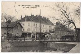 CPA 71 - MONTCEAU Les MINES  (Saône Et Loire) - 11. Le Pont Tournant - F. Et C. (petite Animation, Attelages) - Montceau Les Mines