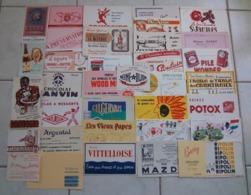 LOT - 100 BUVARDS - TOUS THEMES - EXCELLENT ETAT - Buvards, Protège-cahiers Illustrés