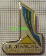 CONSEIL GENERAL De La MANCHE  MONT SAINT ST MICHEL Dpt 50 En Version EPOXY Clou Serti - Administrations