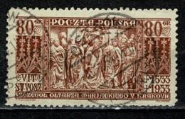 Polska  1933 Yv. 366 Obl/gebr/used - 1919-1939 République
