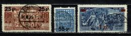 Polska  1934 Yv. 371/73 Obl/gebr/used - 1919-1939 République