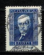 Polska  1936 Yv. 390 Obl/gebr/used - 1919-1939 République