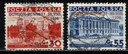 Polska  1936 Yv. 390A/B Obl/gebr/used - 1919-1939 République