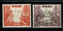 Polska  1938 Yv. 419/20  */Mh + Obl/gebr/used (2 Scans) - 1919-1939 République
