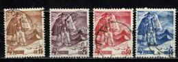 Polska  1939 Yv. 422/25  Obl/gebr/used - 1919-1939 République