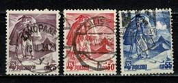 Polska  1939 Yv. 423/25  Obl/gebr/used - 1919-1939 République