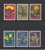 YOUGOSLAVIE.  YT  N° 1013/1018   Neuf **  1965 - 1945-1992 Socialist Federal Republic Of Yugoslavia