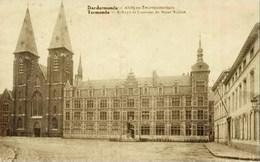 TERMONDE-DENDERMONDE - Abbaye Et Couvent Des Soeurs Noires - Carte Pliée Au Centre - Oblitération De 1928 - Edit. C. Bal - Dendermonde