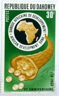 DAHOMEY, BANCA DELLO SVILUPPO, 1969, 30 F., NUOVO (MLH*), Mi:DY 389, Scott:DY 261, Yt:DY 281 - Benin – Dahomey (1960-...)