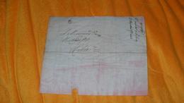 LETTRE ANCIENNE DU 16 MESSIDOR AN 10 ( 1802 ?..)..MARQUE 89 AVIGNON POUR AIX...+ TAXE...LETTRE A IDENTIFIER.. - 1801-1848: Precursori XIX