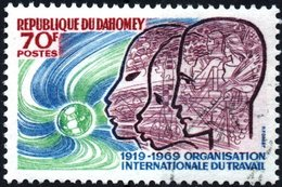 DAHOMEY, ORGANIZZAZIONE INTERNAZIONALE DEL LAVORO, 1969, 70 F., NUOVO (MNH**) (0,60) Mi:DY 376, Scott:DY 258, Yt:DY 278 - Benin – Dahomey (1960-...)