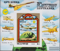 North-Korea Block85B (complete Issue) Unmounted Mint / Never Hinged 1980 Lufthansa - Korea, North