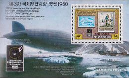 North-Korea Block83A (complete Issue) Unmounted Mint / Never Hinged 1980 Stamp Fair - Corée Du Nord
