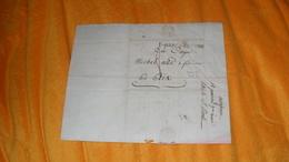 LETTRE ANCIENNE DU 18 PRAIRIAL AN 7 ( 1799 )..MARQUE 10 CARCASSONNE POUR AIX...+ TAXE...LETTRE A IDENTIFIER.. - Marcofilia (sobres)