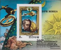 North-Korea Block82b (complete Issue) Unmounted Mint / Never Hinged 1980 350. Death Johannes Keppler - Korea, North