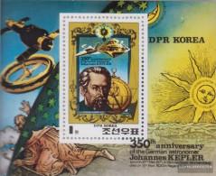 North-Korea Block82a (complete Issue) Unmounted Mint / Never Hinged 1980 350. Death Johannes Keppler - Korea, North